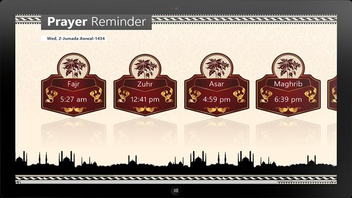 Prayer Reminder for Windows 8