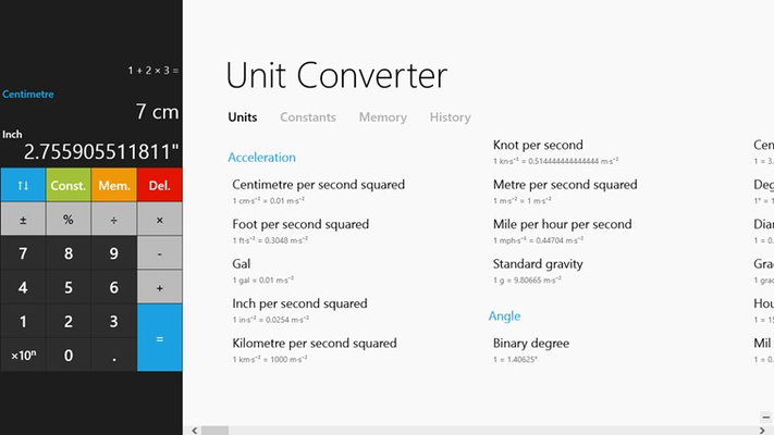 Calculator² for Windows 8