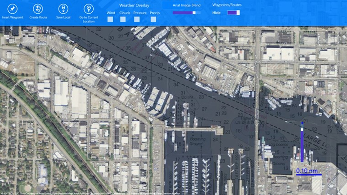 Overlay and blend Aerial maps for the whole world