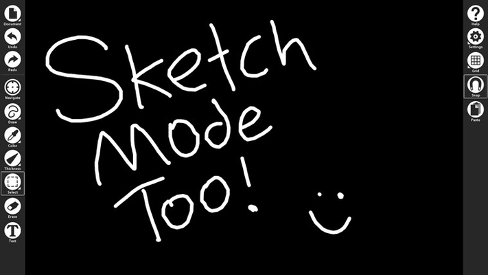 Try sketch mode too!