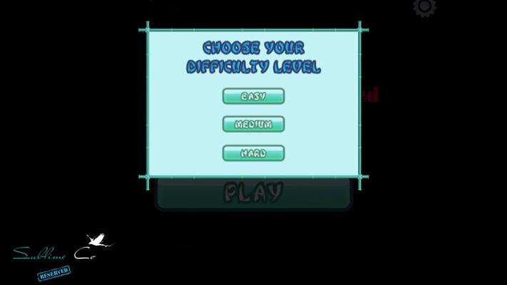 Choose level