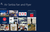 Air Serbia Fan and Flyer for Windows 8
