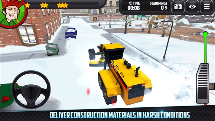 Trucking 3D! Construction Delivery Simulator for Windows 8