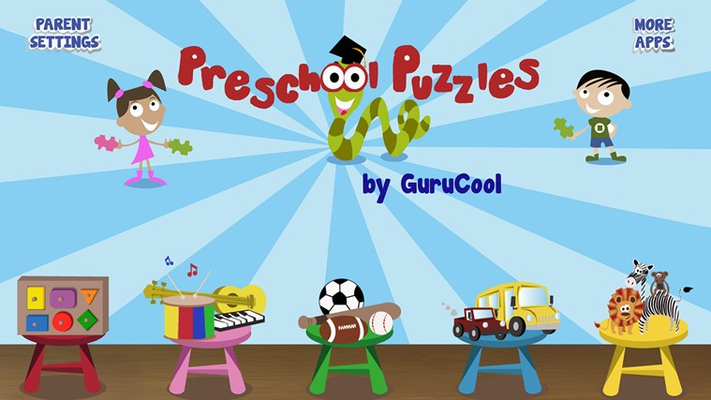 5 delightful puzzle games that teach kids about animals, music instruments, vehicles, sports and shapes