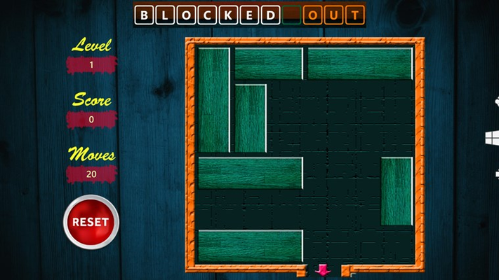 Orange Block removed from Block in Level 1