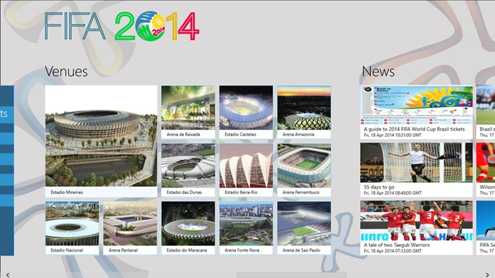 The HomePage with Photos section