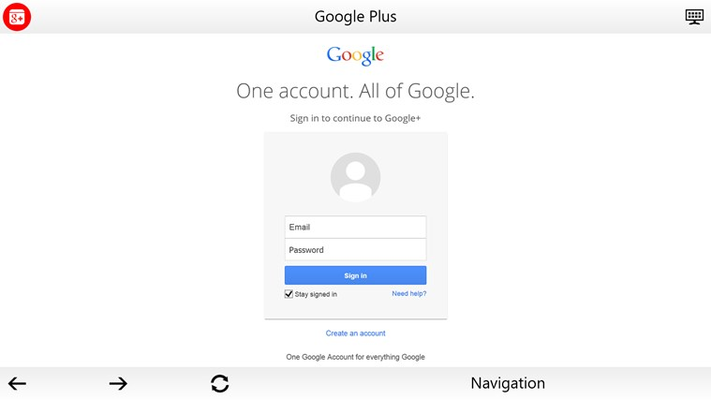 One Google Account Sign In
