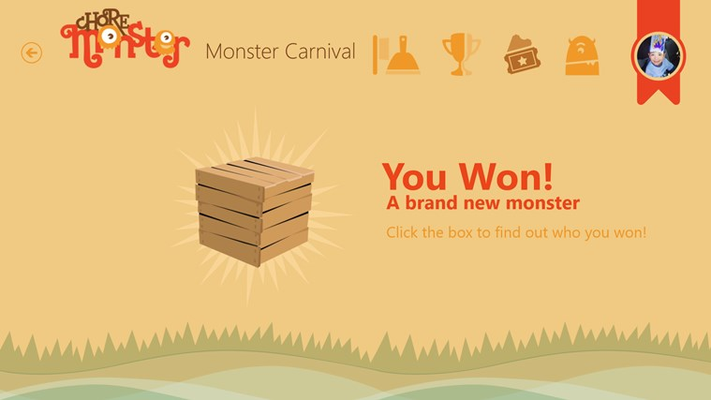 Win and collect all 250 monsters!