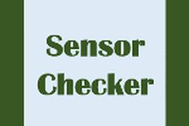 Sensor Checker