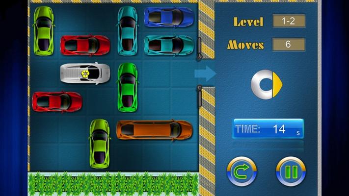 Game main screen.