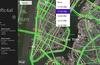 Traffic density forecasts based on data records