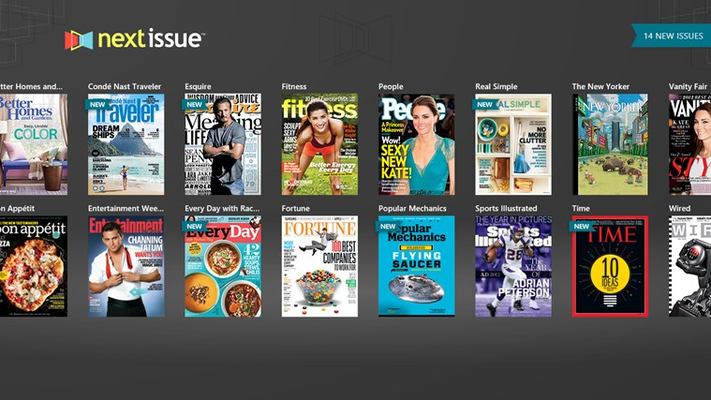 Select magazines to autoload the moment you open the app so you can start reading immediately.