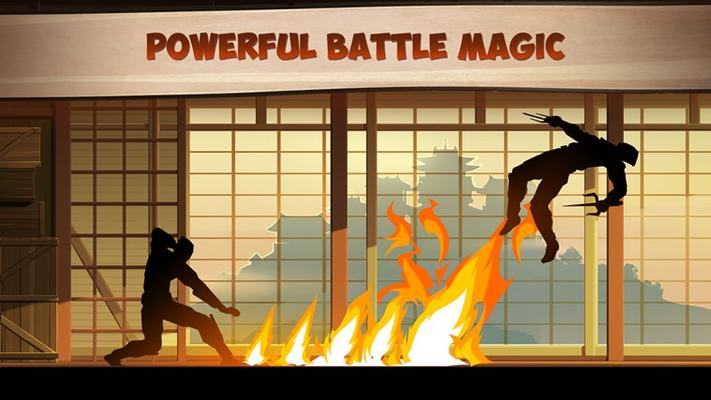 Powerful battle magic