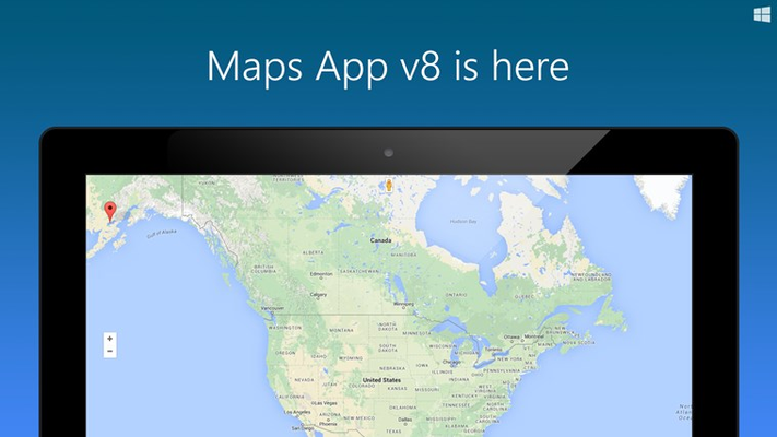 Maps App for Windows 8
