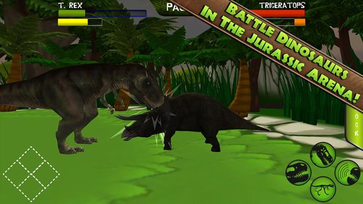 A prehistoric arcade style dino-fighter!