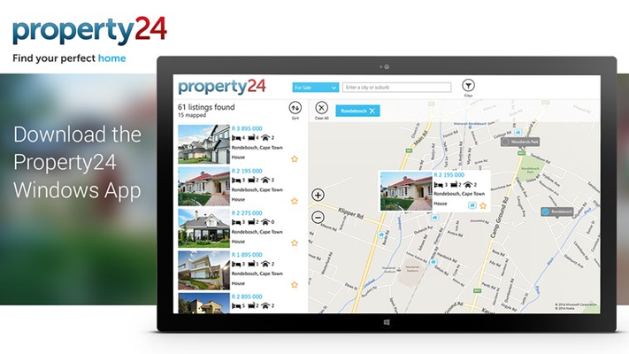 Search for houses from South Africa's leading Estate Agents