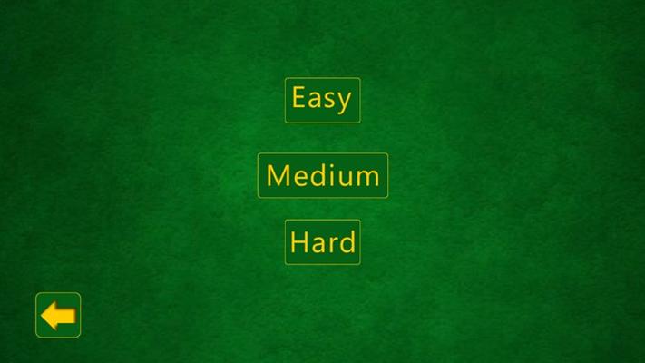 Game level screen