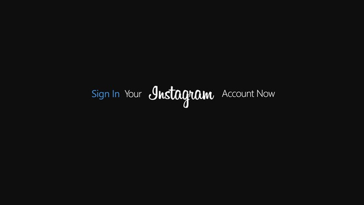 Instagram Account is required for best experience