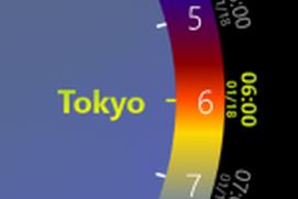 Wheel World Clock