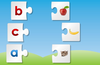 Kids and toddlers learn the English alphabet through various beautifully designed activities