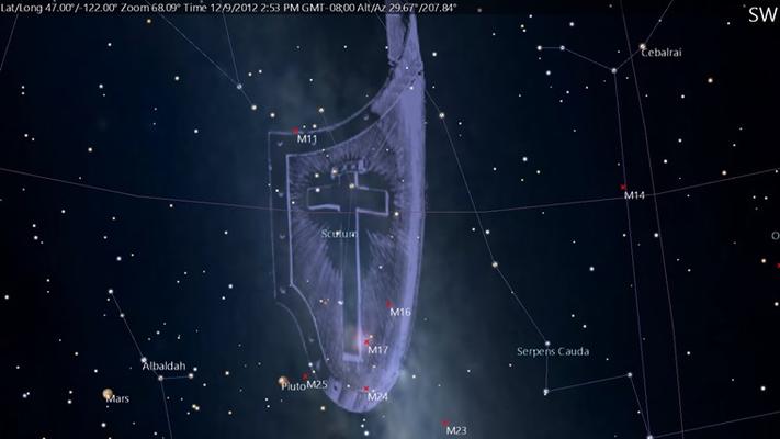 Scutum constellation