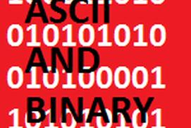 ASCII and Binary Converter