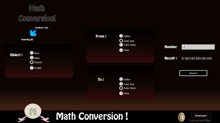 Conversion!