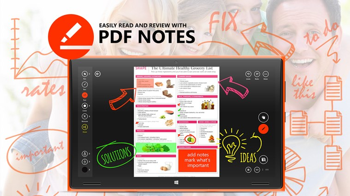 PDF Notes for Windows 8