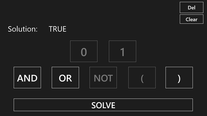 """Tap """"Solve"""" to see the evalutation"""