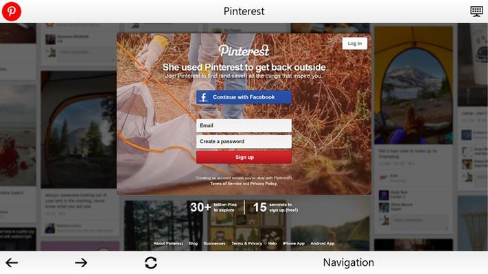 Pinterest - Social App Suite