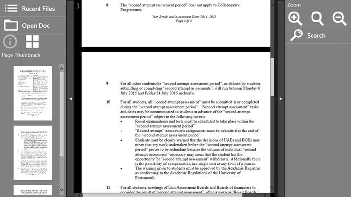 Open Document for Windows 8