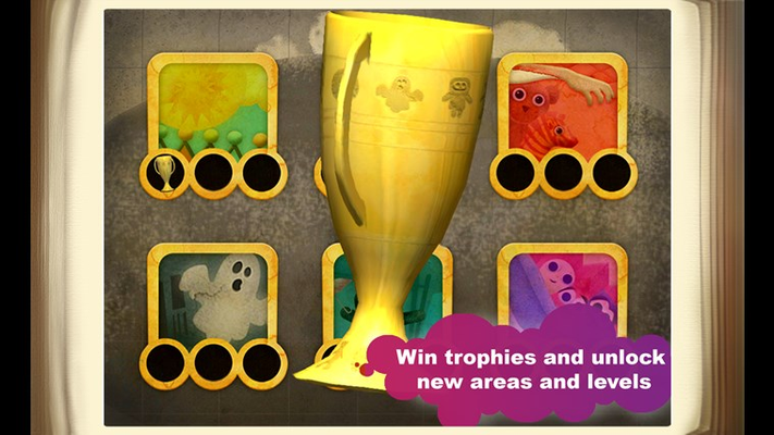 Win trophies and unlock new areas and levels.
