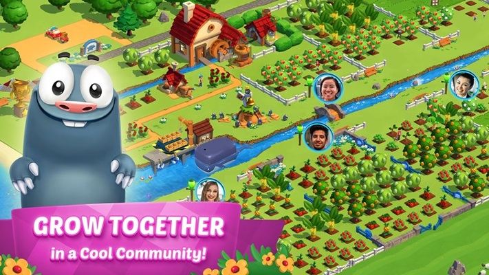 GROW TOGETHER in a Cool Community!