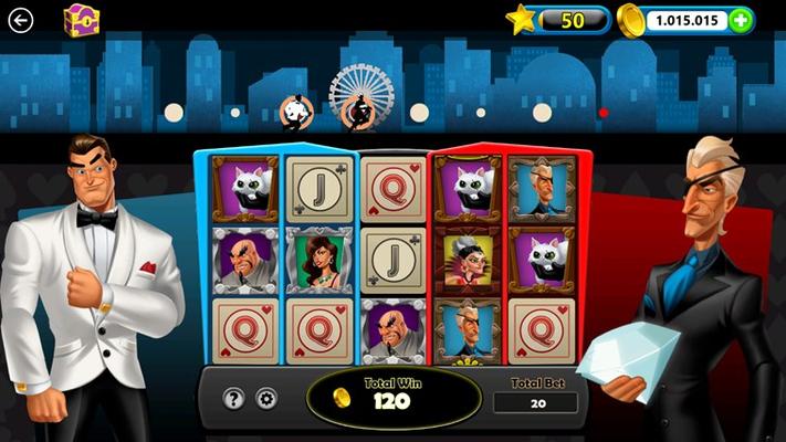 Collar the villain for a big coin bonus!