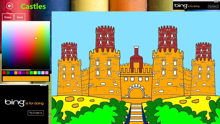 Another Colored Castle