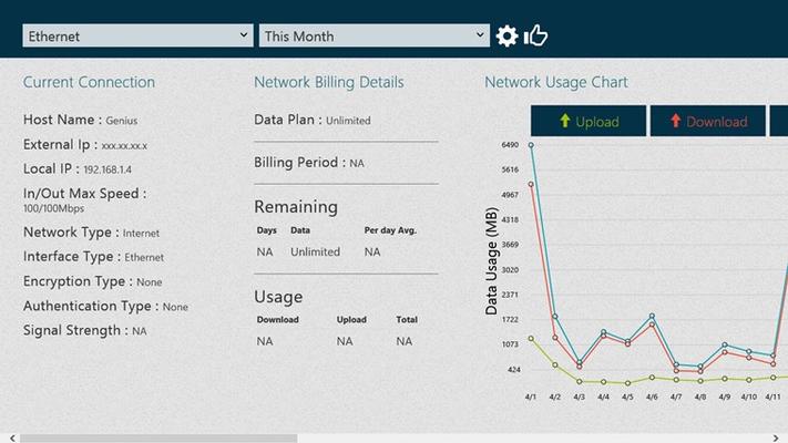 Data Usage for Windows 8
