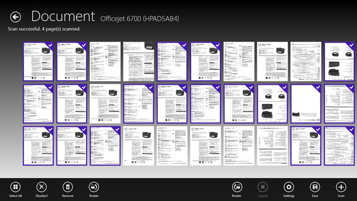 HP Scan and Capture for Windows 8