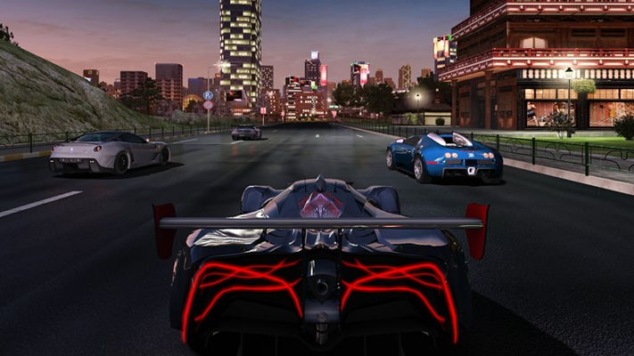 The Most Realistic  Racing Simulation 4 different weather  & time conditions.