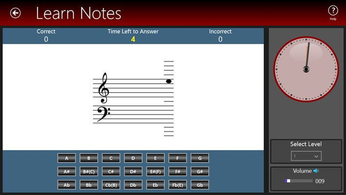 Piano Library for Windows 8