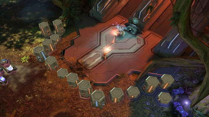 Forerunner control mechanisms are often surrounded by devices of arcane functionality.