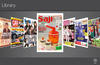 Semua majalah yang sudah di download bisa langsung tersimpan d Library dan bisa di baca kapanpun dan di manapun.