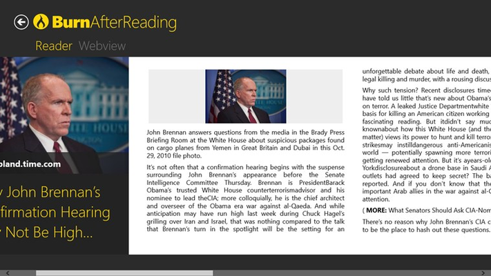 Read your article in the beautiful Reader View