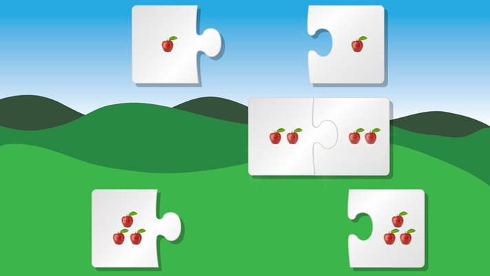 More advanced puzzles based on child's progression