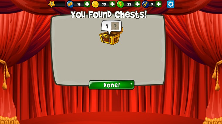 Find & open chests!