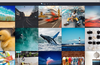 Browse your Instagram feed in style. Pixsta will adapt to any window size.