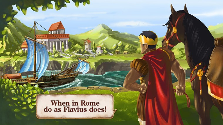 When in Rome do as Flavius does!