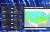 US weather forecast map