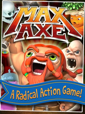 Draw to throw axes in this Radical Action Game!