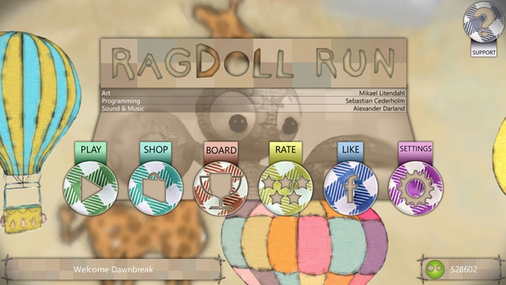 Welcome to Ragdoll Run!