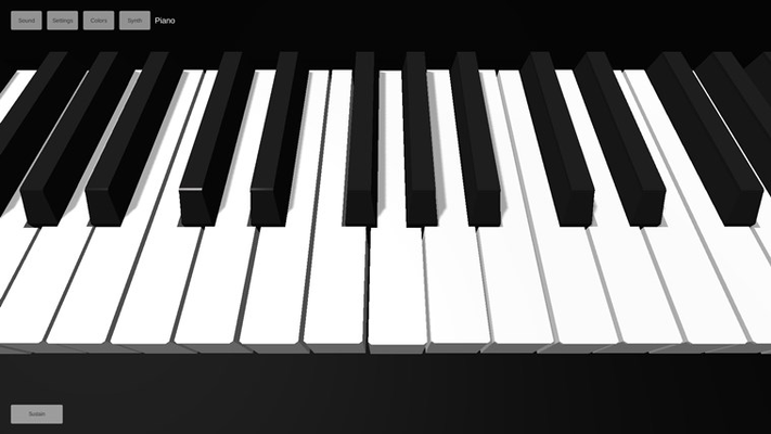 Piano 3D for Windows 8